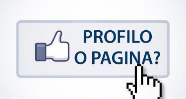 Facebook profilo pagina
